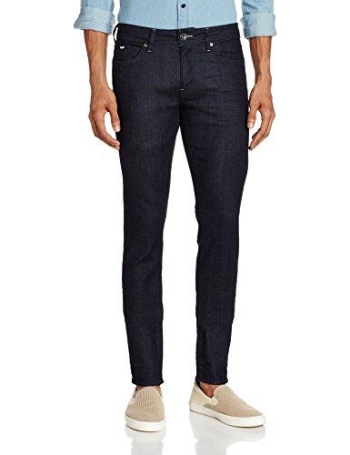 GAS Sax Zip, Jeans Uomo, Blu, 36
