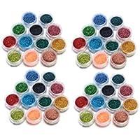 KurtzyTM Confezione da 48 Polveri Acriliche Glitter
