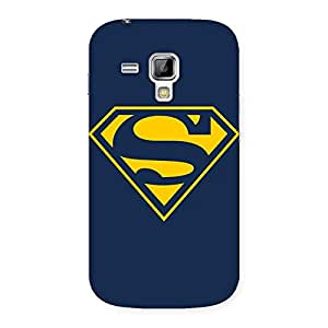 Delighted Yellow Day Back Case Cover for Galaxy S Duos