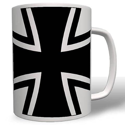 #16482 Tasse type mug Motif emblème croix de fer Panzer Bundeswehr armée fédérale allemande