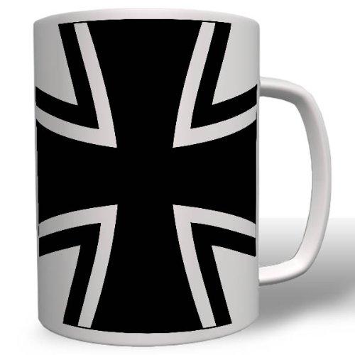 BW Kreuz Panzer Marine Heer Bundeswehr Symbol Wappen Abzeichen Emblem - Tasse Kaffee Becher #16482
