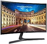 Samsung, LC27F396FHUXEN 27 Cali, Zakrzywiony Monitor Komputerowy, Czarny