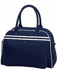 Bag Base - Sac bowling - poignées - RETRO BOWLING BAG BG75 - bleu marine - mixte