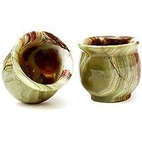 Juego de vasos de chupito de tequilaRADICALn Barra de cocina Decoración de vidrio hecho a mano
