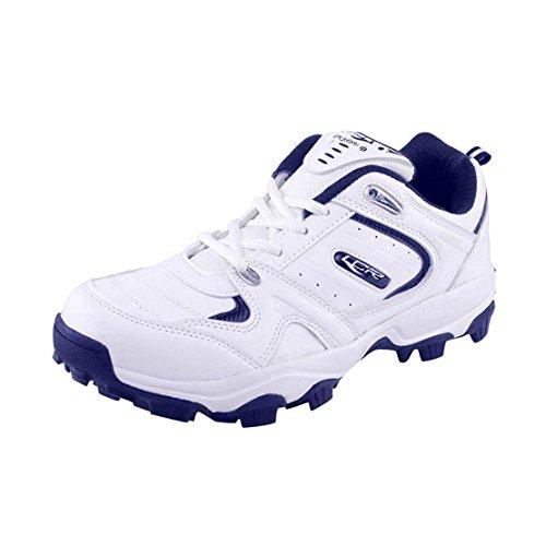 Lancer White Blue Men's Sports Running Shoes 8 UK