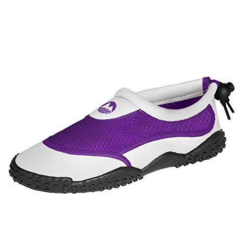 Lakeland Active Eden Aqua Shoes - White/Purple -29