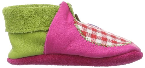 Pololo Pololo Apfel, Chaussons Doublé Chaud Fille Rose (pink 422)