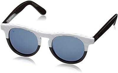 Wolfnoir, HATHI ACE BICOME UPSTIRE - Gafas De Sol unisex multicolor (marrón chocolate/blanco/azul), talla única