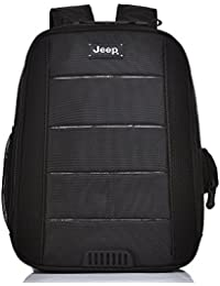 Jeep Business Backpack Polyester For Laptop and Notebook For Men   Women 96bdcd9cbb