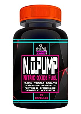 NO2 PUMP Nitric Oxide Fuel 90 capsules from Ripped Labz