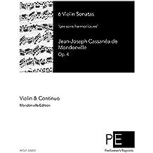 6 Violin Sonatas, 'Les sons harmoniques', Op. 4
