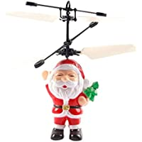 HUHU833 Electric Infrared Sensor Flying Ball Christmas Helicopter LED Light Toy (Santa Claus) - Compare prices on radiocontrollers.eu