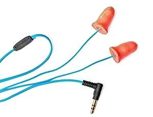 Plugfones Yellow Ear Plug Earbuds