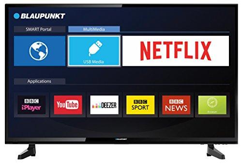 Blaupunkt BLA-32/148M-GB-11B-EGPX-UK 32-Inch HD Ready Smart LED TV with Freeview HD - Black