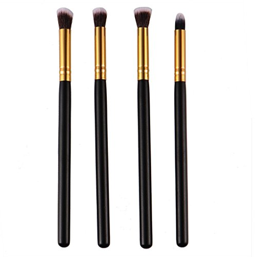 4PCS Professional Eye Shadow Eyeshadow Blending Brush Set cosmétique de maquillage Outils