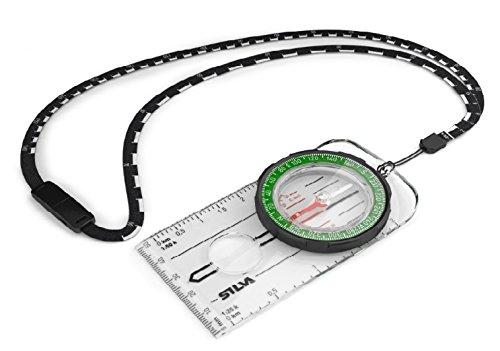 Silva Unisex Ranger Bussola, Verde/Trasparente, 20x 11x 1cm