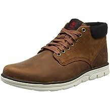 Herren Bradstreet Chukka Leatherred Brown Fg High-Top