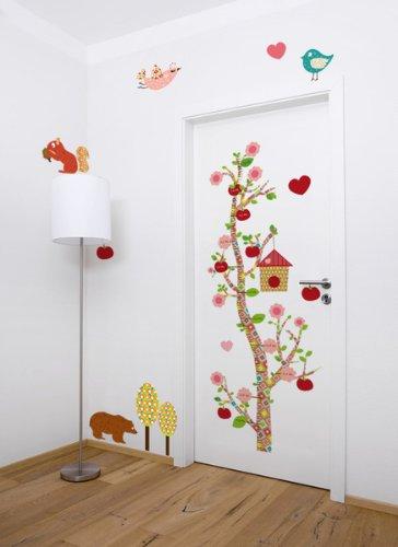 finlix-messlatte-floral-zum-aufkleben-mit-eigenem-namen-personalisierbar