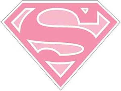 SUPERGIRL Logo, Original DC Comics Superhero Artwork, 3.5