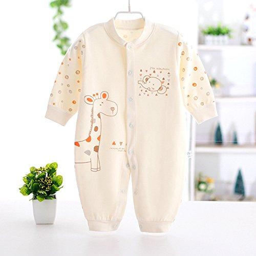 Neugeborene Kleidung, Chickwin Unisex 100 % Reine Baumwolle Warme Herbst und Winter Säuglinge Mädchen Jungen Jumpsuit Baby Schlafanzug (66 cm (3-6 Monate), (Kostüme Batman Säuglings)