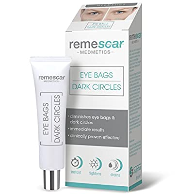 Remescar - Eye Bags & Dark Circles - Cream for Under Eye Bags - Dark Circles Remover - Remove Bags Under Eyes - Instant Eye Bag Treatment for Men & Women - Eye Skin Tightening