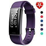 Lintelek Fitness Tracker, Customized Activity Tracker with Heart Rate Monitor, 14 Sports Modes