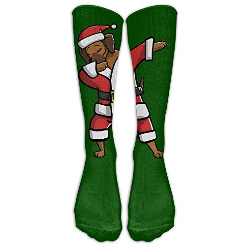 Rhodesian Ridgeback Ugly Christmas Athletic Tube Stockings Women's Men's Classics Knee High Socks Sport Long Sock One Size ()