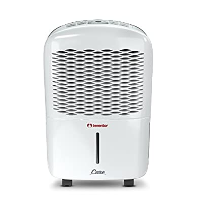 Inventor 12L 207W Portable Dehumidifier with Silent mode, Digital control panel, Continuous Dehumidification, Auto Restart, Care with 2-Year Warranty