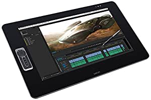 "Wacom DTH-2700 Display Interattivo Full HD, Pen & Touch, 2048 Livelli di Pressione, Schermo da 27"", ExpressKeys Remote, Nero"