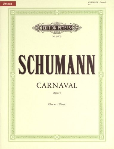 Carnaval Op.9 Piano
