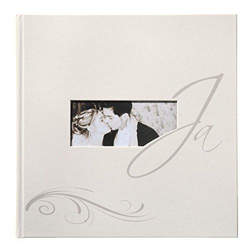 Goldbuch 08108 Hochzeitsalbum Yes, 30 x 31 cm, 60 Seiten, beige