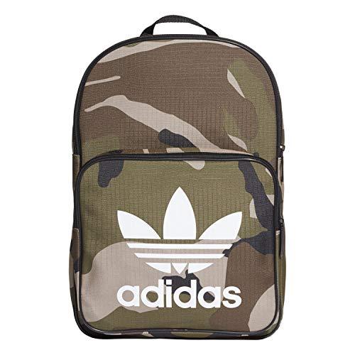 adidas Unisex-Erwachsene BP CLASSIC CAMO Rucksack, Mehrfarbig (Carpal/Blanco), 24x36x45 centimeters (Adidas Camo)