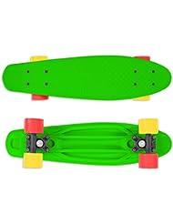 Street Surfing monopatín Fizz, Verde, 22, 500401