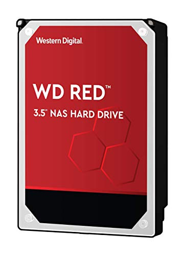 WD Red 6TB interne Festplatte,6000 GB, SATA III, 6000 Mb/s, 5400 RPM, 64 MB, 3.50 inches