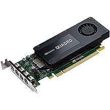 PNY VCQK1200DP-PB Nvidia Quadro K1200 Scheda Grafica Professionale, 4 GB, GDDR5, PCI-Express Low Profile 4K 4 x DP