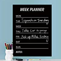 ShopSquare64 Umwelt PVC Lehre Tafel Abnehmbare Tafel Aufkleber Schreiben Woche Planer Home Decor