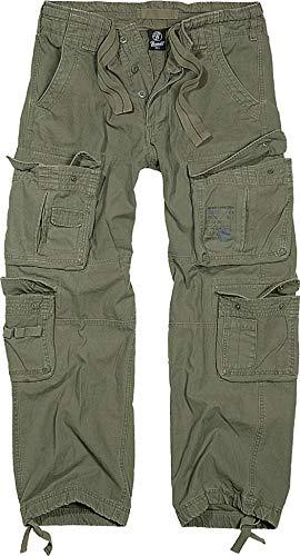 Soldat Kostüm Grün - Brandit Cargohose Pure Oliv L