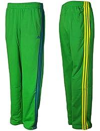 adidas ESS 3S OH Pant Trainingshose Jogginghose Grün ClimaLite Cotton