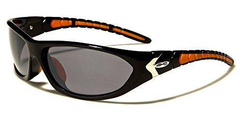 X-Loop Solo Sonnenbrillen - Sport - Radfahren - Skifahren - Laufen - Driving - UV400 (UVA & UVB)