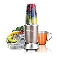 Nutribullet 900 Watts, 9 Piece Set,  Multi-Function High Speed Blender, Mixer System with Nutrient Extractor, Smoothie Maker, Copper Gold, 2 Years Warranty