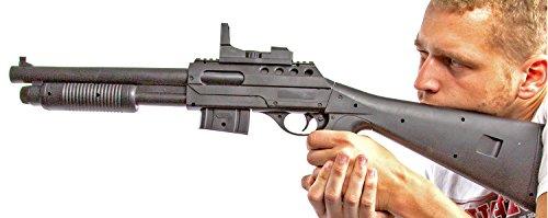 Nick and Ben XXL Faschings Pumpgun Gewehr 75,5 cm (Spielzeug Uzi Gun)