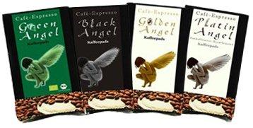 Kaffeepads Pobierpaket Espresso Pads Angel 4 x 3 Pads