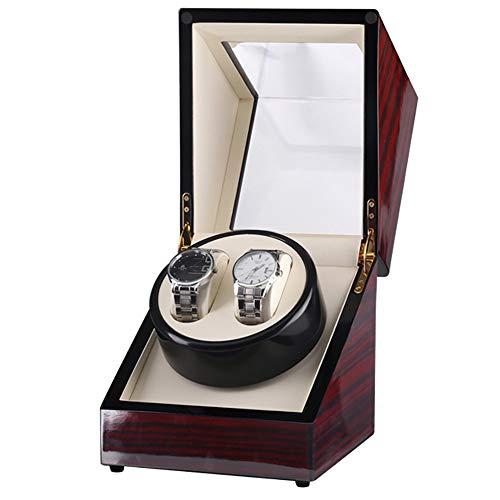 Wood Double Single Automatic Watch Winders Watch W Al Mejor Precio