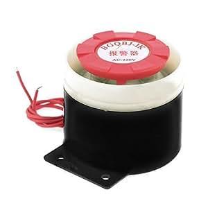 AC 220V 80dB Mini Piezo Maison Sécurité Alarme Sirène d'alerte