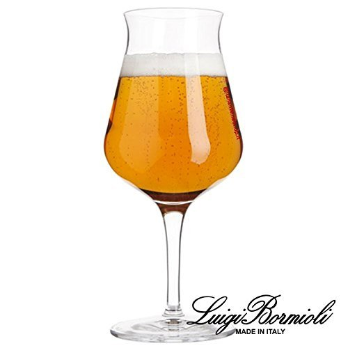 Luigi Bormioli Kollektion Birateque Tester 42 Degustationsglas für Bier, 6 Stück -
