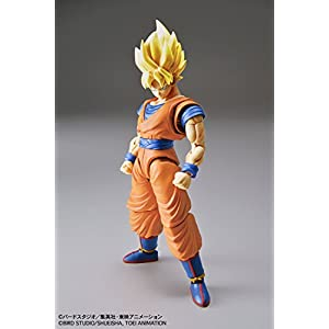 Bandai Hobby Figure-rise Standard Dragon Ball Z Son Goku Super Saiyan Modelismo Maqueta [Necesario Su Montaje]