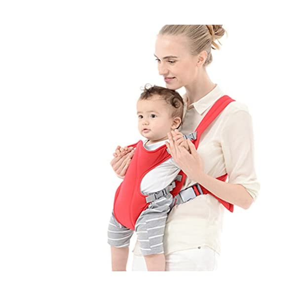 PoeHXtyy Infant Front Facing Slings Breathable Pouch Wraps Carriers Backpacks Suspenders PoeHXtyy BabySteps baby carrier allows you to carry your infant or toddler in any position. The waistband is adjustable to a maximum of 48.8''/124cm. Suitable to be worn by all statures for carrying your baby from 3 months to 36 months, between 8 and 44lbs. Built in ergonomic designed hip seat allows baby to be in a natural sitting position and evenly distribute the weight between carrier's hip and shoulders. Hip seat carrier is equipped with back support and foldable head support to ensure baby's smooth breathing when facing outward. 6