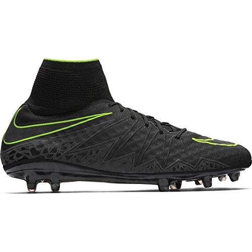 Nike Hypervenom Phantom II FG, Botas de Fútbol para Hombre, Negro (Bl