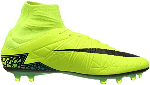Nike Hypervenom Phatal II Dynamic Fit (FG), Chaussures de Football Compétition Homme Jaune - Amarillo (Amarillo (Volt/Black-Hyper Turq-Clr Jade))