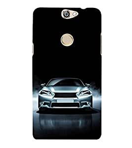 FUSON Royal Sports Car 3D Hard Polycarbonate Designer Back Case Cover for Coolpad Max